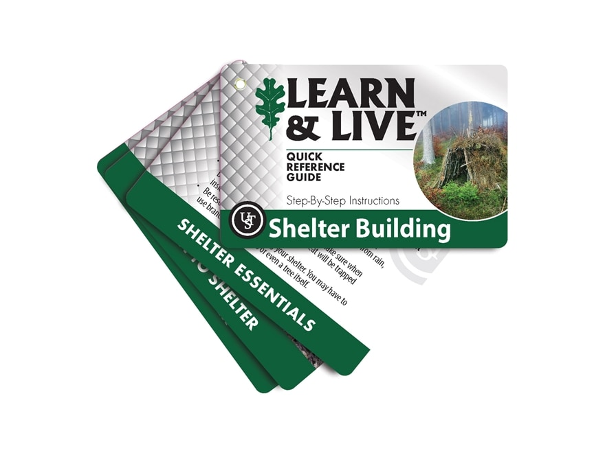 UST Learn & Live Shelter Building Cards