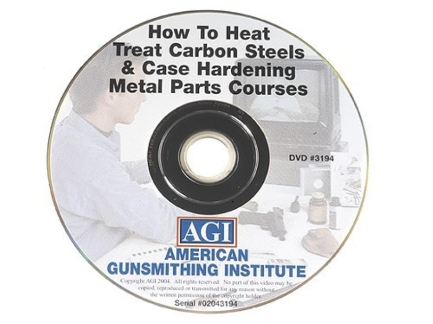 """American Gunsmithing Institute (AGI) Video """"How to Heat Treat Carbon Steels & Case Hard..."""