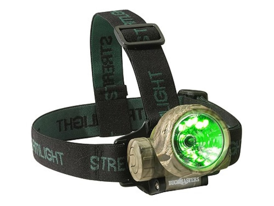 Streamlight Trident Headlamp LED with 3 AAA Batteries Polymer Camo