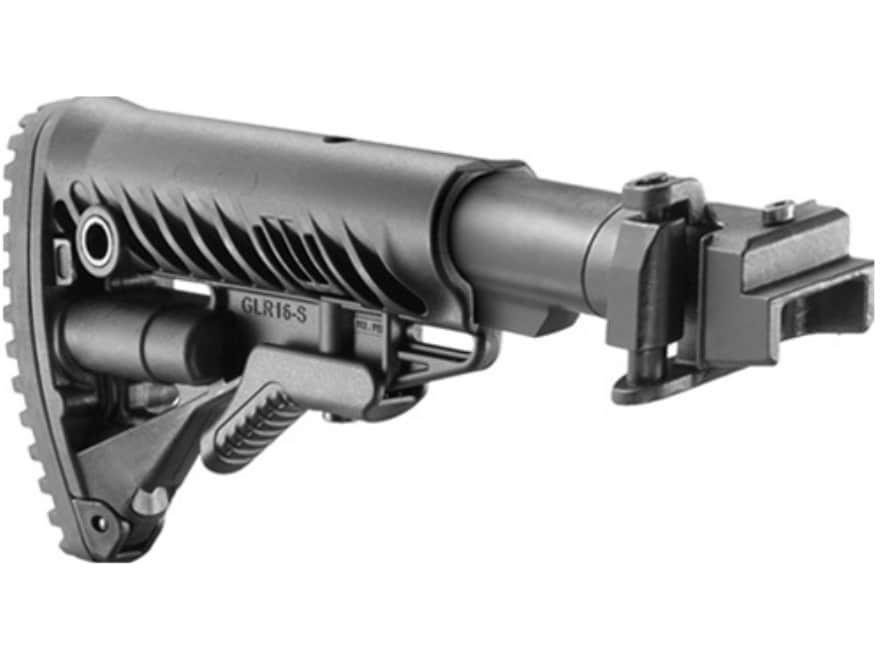FAB Defense Folding Collapsible GLR16 Buttstock Assembly Metal Joint AK-47, AK-74 Polymer