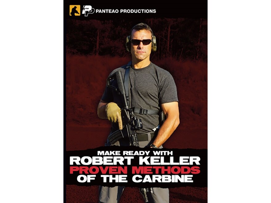 "Panteao ""Make Ready with Robert Keller: Proven Methods of the Carbine"" DVD"