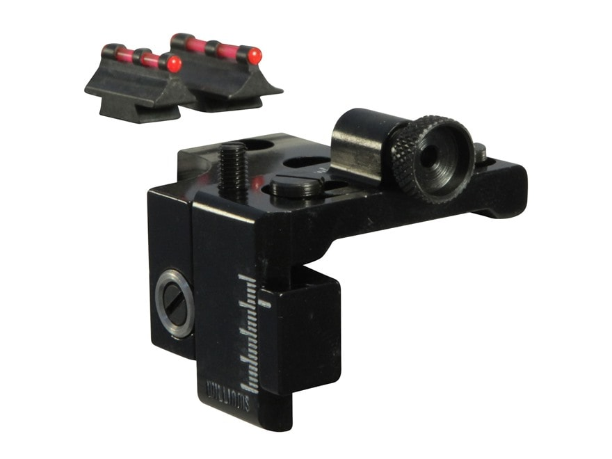 Williams Fire Sight Set Marlin 336 with Ramped Front Sight Aluminum Black Fiber Optic R...