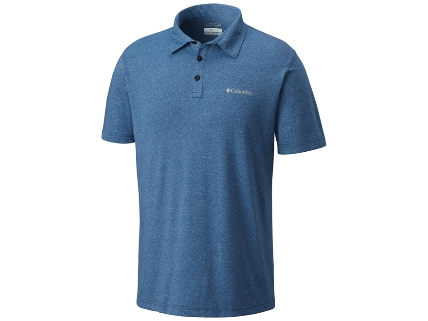 Columbia Men's Cullman Crest Polo Short Sleeve Cotton/Poly