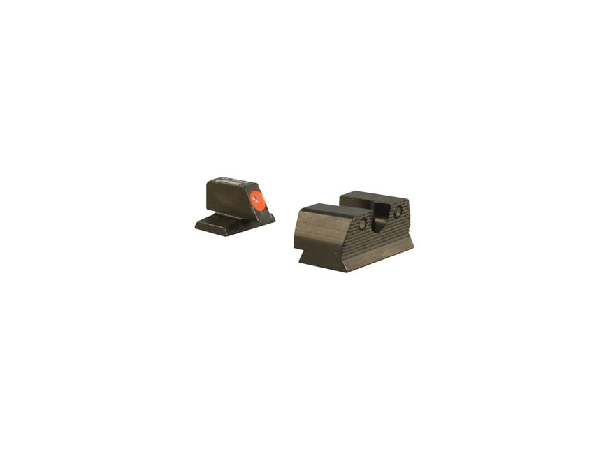 Trijicon HD XR Night Sight Set FN FNX-45, FNP-45 Steel Matte 3-Dot Tritium Green