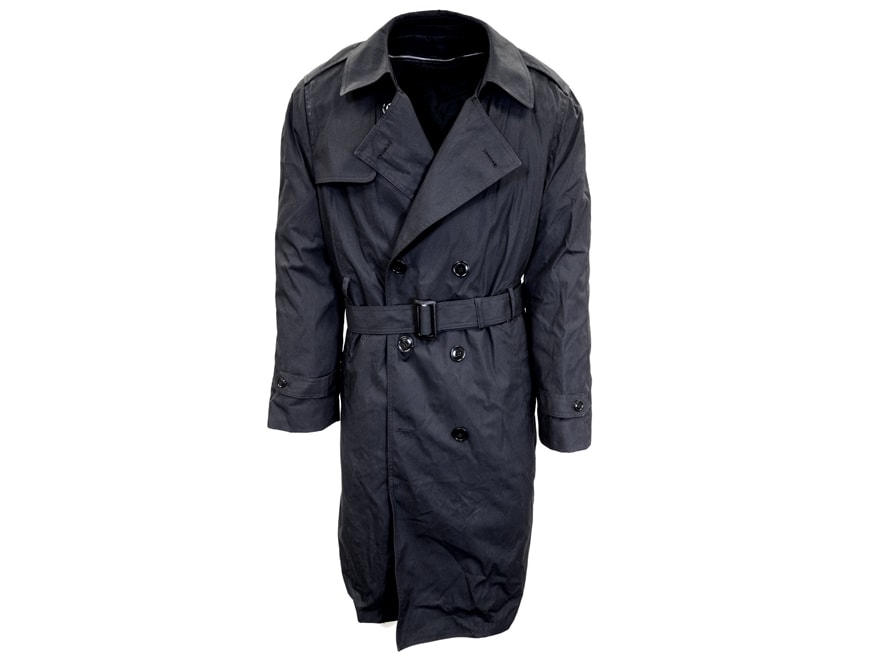 Military Surplus All Weather Overcoat with Liner