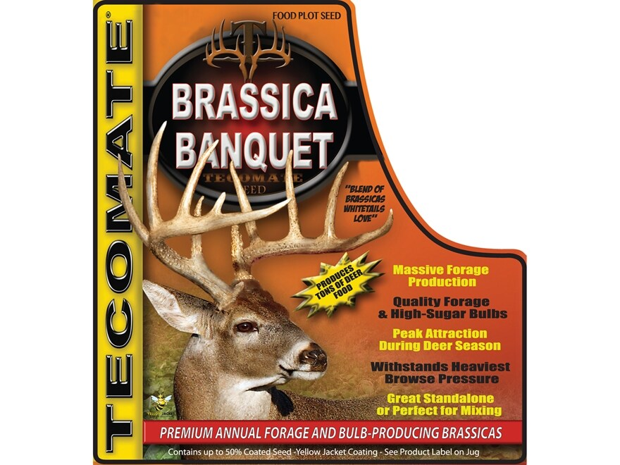 Tecomate Brassica Banquet Annual Food Plot Seed 3 lb