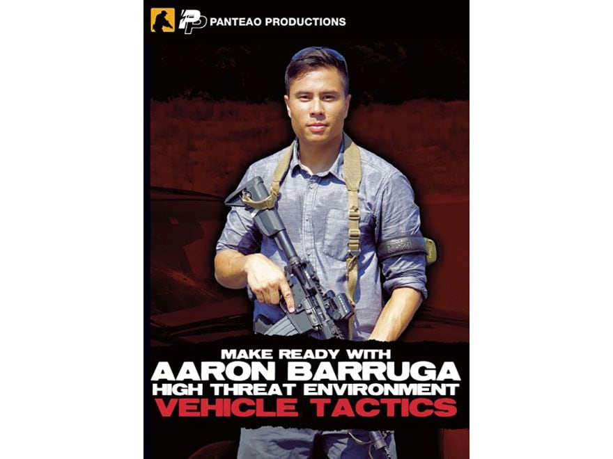 "Panteao ""Make Ready with Aaron Barruga: High Threat Environment Vehicle Tactics"" DVD"
