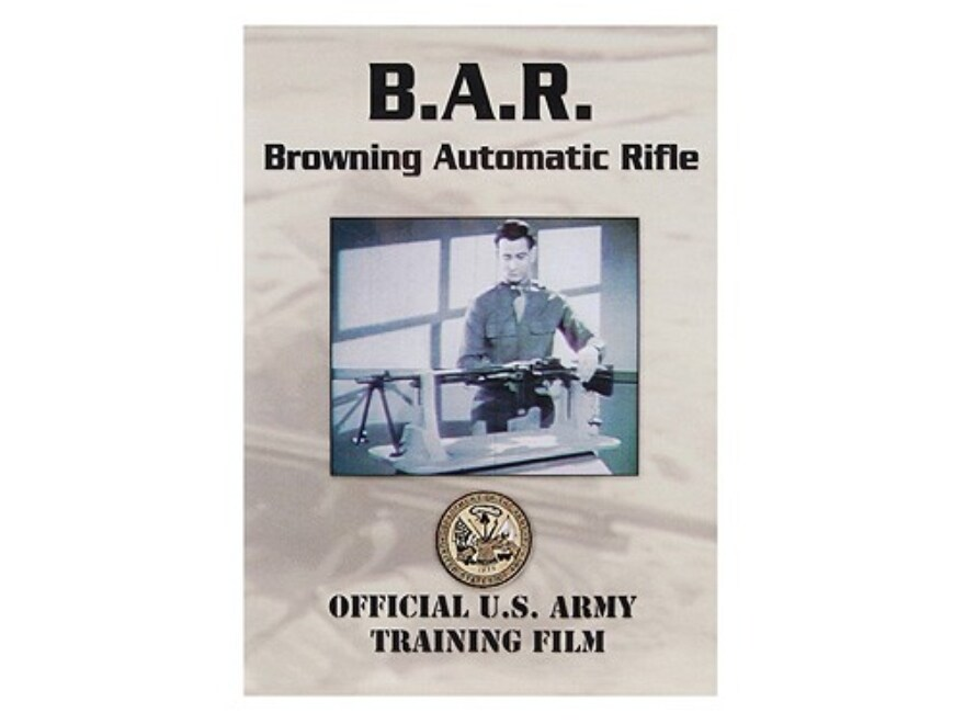 "Gun Video ""B.A.R. Browning Automatic Rifle"" DVD"