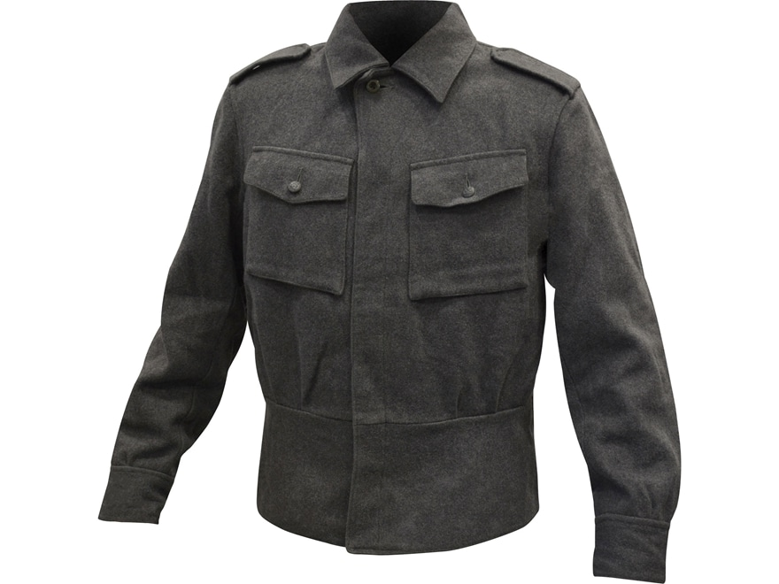 Military Surplus Finnish M65 Service Jacket Gray