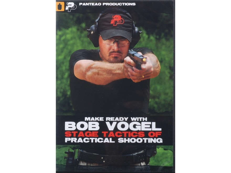"""Panteao """"Make Ready with Bob Vogel: Stage Tactics of Practical Shooting"""" DVD"""