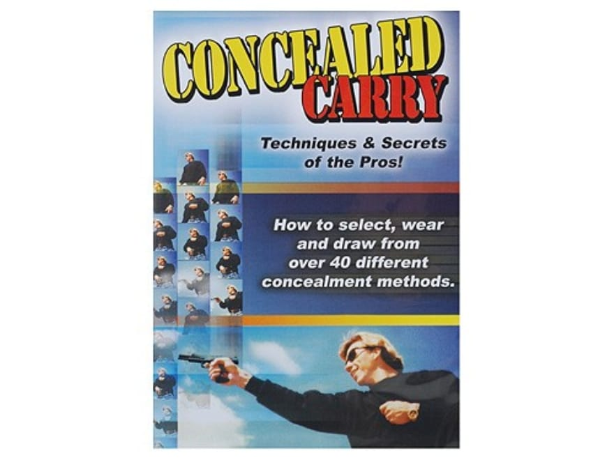 """Gun Video """"Concealed Carry: Techniques & Secrets of the Pros"""" DVD"""