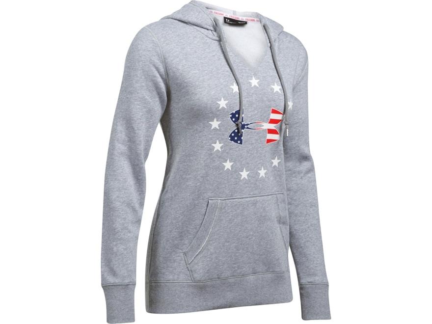 Under Armour Women's UA Freedom Logo Favorite Fleece Hoodie Cotton/Poly