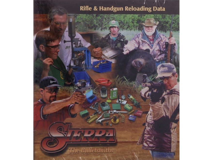"""Sierra """"5th Edition Rifle and Pistol Manual of Reloading Data"""" Reloading Manual"""