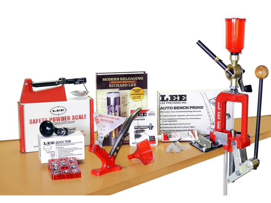 Lee Challenger Breech Lock Single Stage Press Deluxe Kit