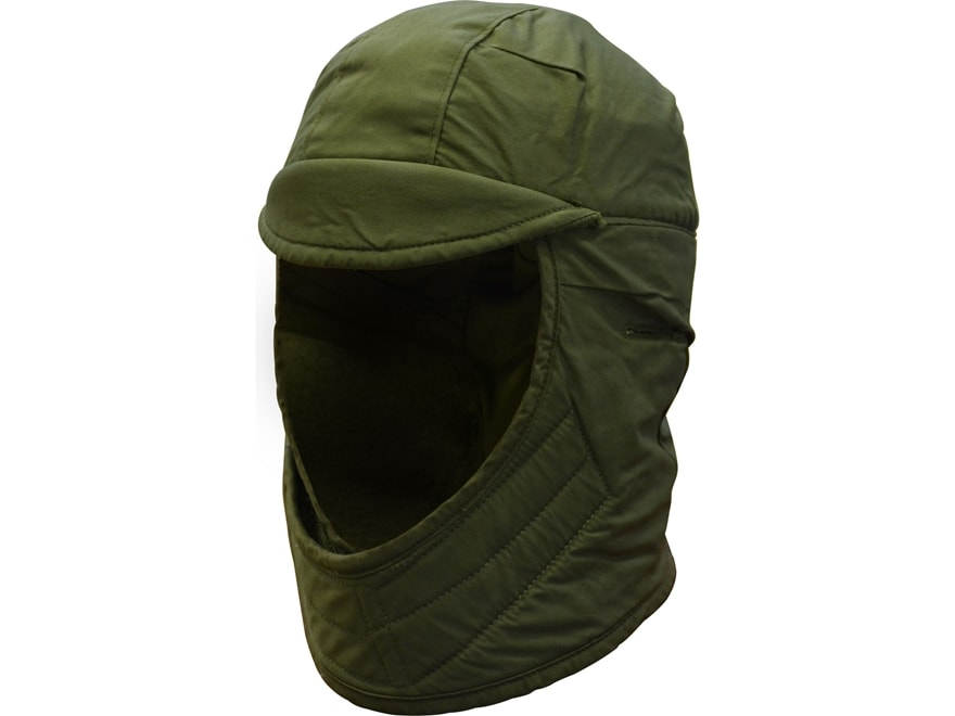 Military Surplus Cold Weather Flyer's Cap Grade 1 Olive Drab