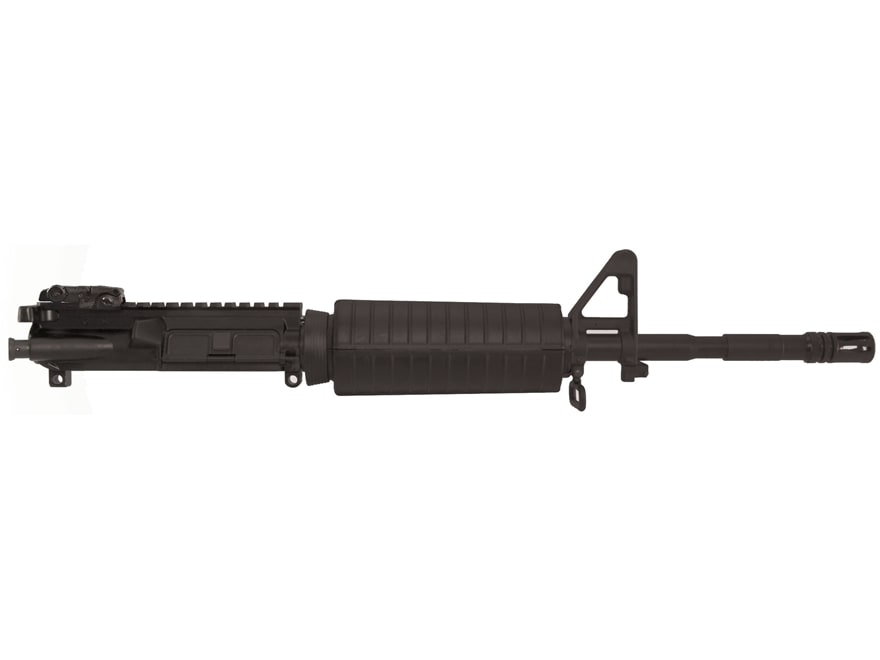 "Colt AR-15 Pistol Upper Receiver Assembly 5.56x45mm NATO 14.5"" Barrel Flip Up Rear Sight"