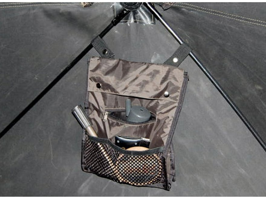 HME Universal Ground Blind Accessory Bag Polyester Brown