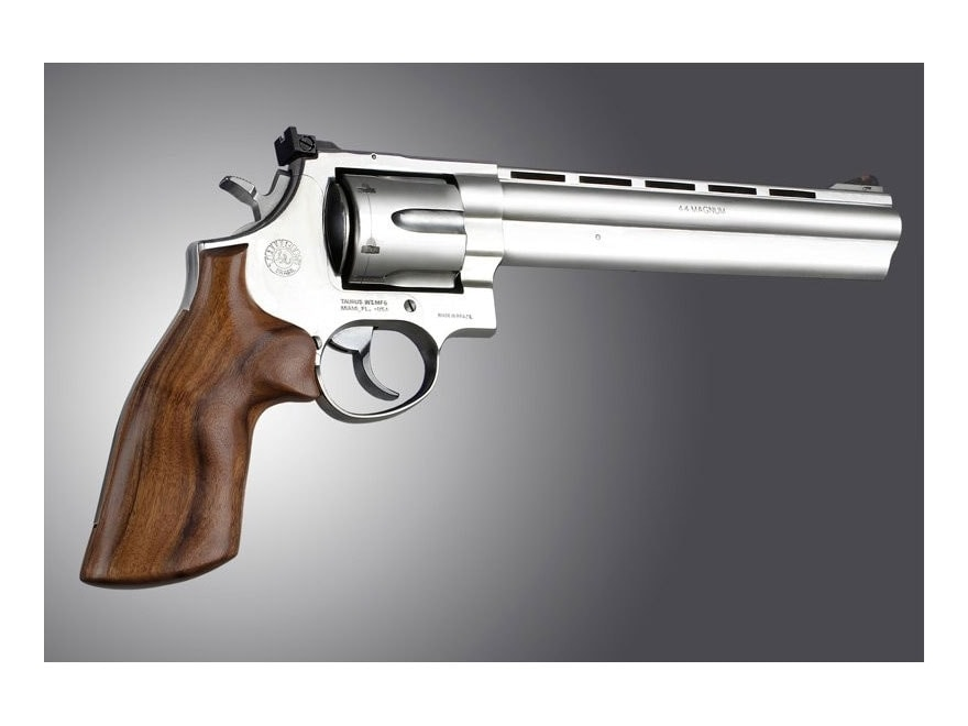 Hogue Fancy Hardwood Grips Taurus Medium and Large Frame Revolvers Square Butt