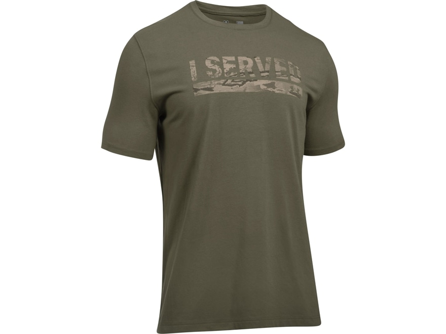 Under Armour Men's UA I Served T-Shirt Short Sleeve Charged Cotton