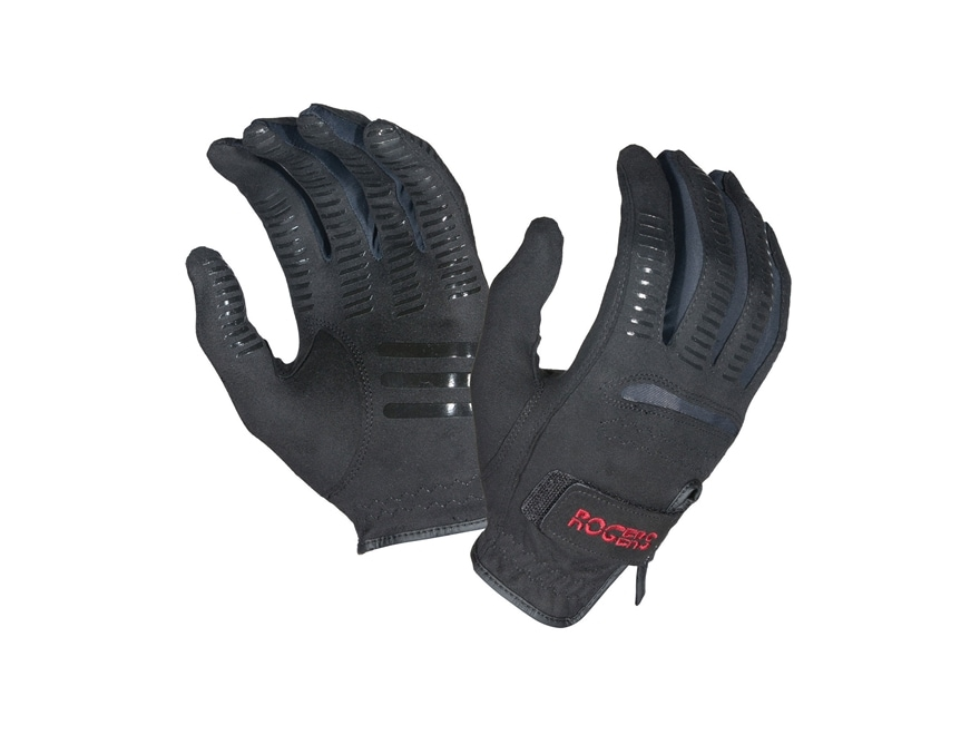 Safariland Rogers Shooting Gloves Synthetic Blend Black