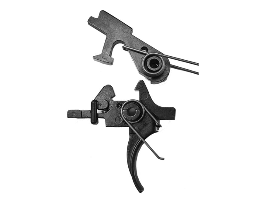 """Del-Ton Two Stage Combat Trigger Assembly AR-15, AR-10, LR-308 Small Pin .154"""" Matte"""