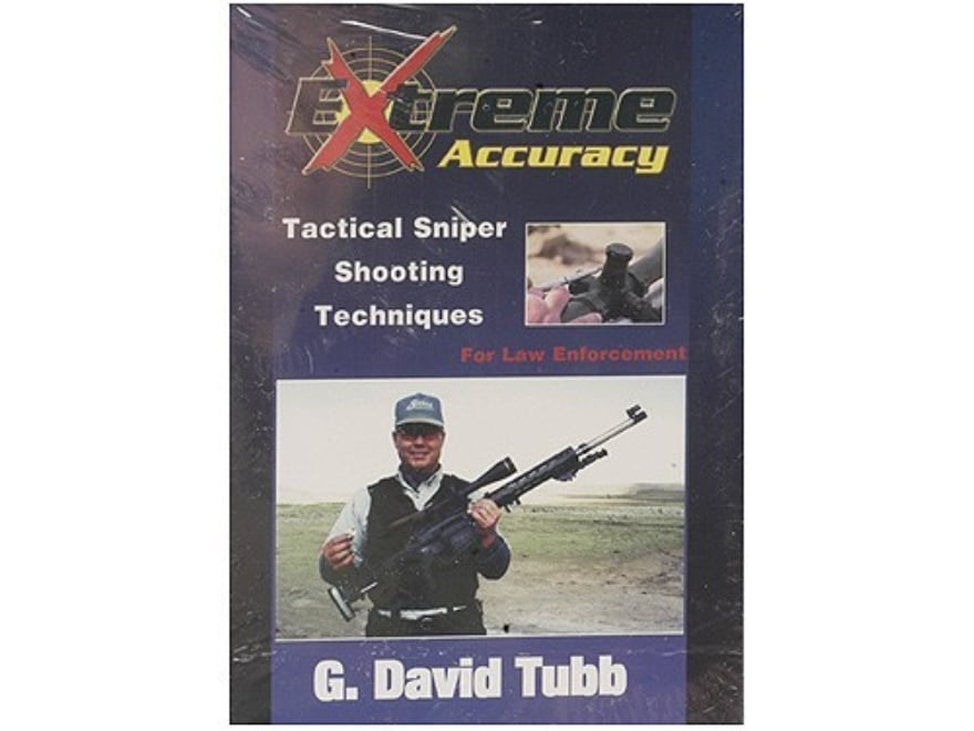 """Gun Video """"Extreme Accuracy: Tactical Sniper Shooting Techniques for Law Enforcement wi..."""