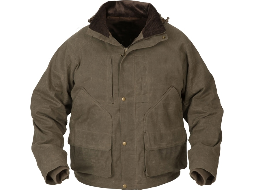Avery Men's Heritage Collection Waterproof Wading Jacket Cotton/Poly Brown