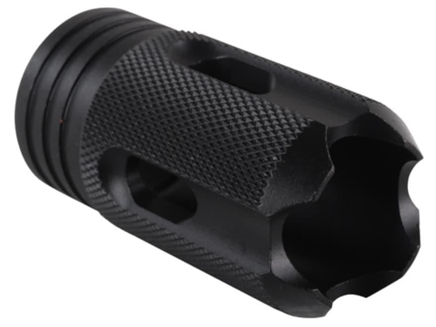 DoubleStar Saiga Enforcer Muzzle Brake M22x7.5 Thread Saiga 12 Gauge Steel Matte