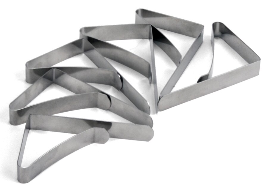 Coghlan's Tablecloth Clamps Stainless Steel Pack of 6