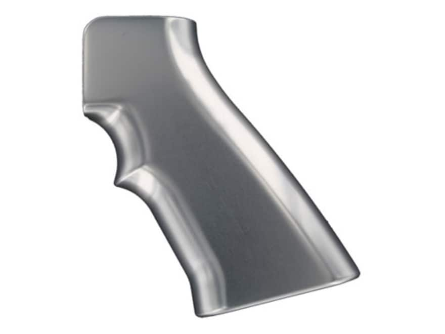 Hogue Extreme Series Grip AR-15, LR-308 Brushed Aluminum Gloss
