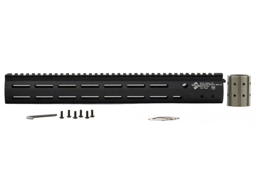 ALG Defense Ergonomic Modular Rail (EMR) V3 Free Float M-Lok Handguard AR-15 Aluminum