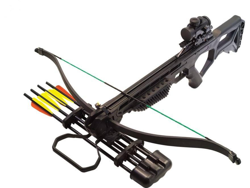 PSE Jolt Crossbow Package with Red Dot Sight Black