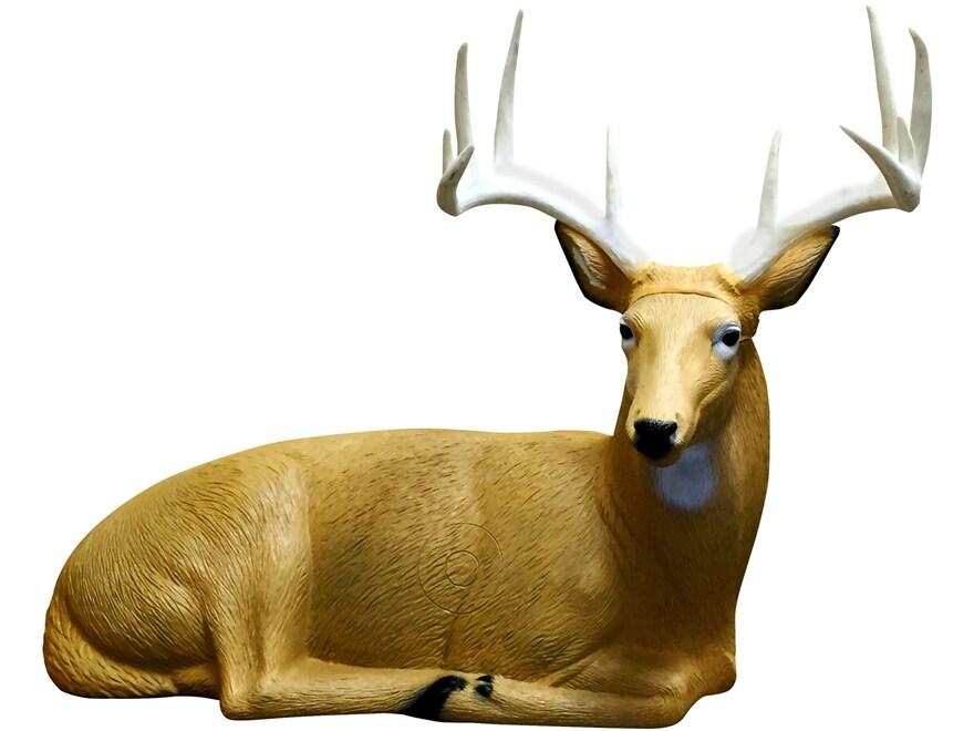 Rinehart Bedded Buck 3-D Foam Archery Target