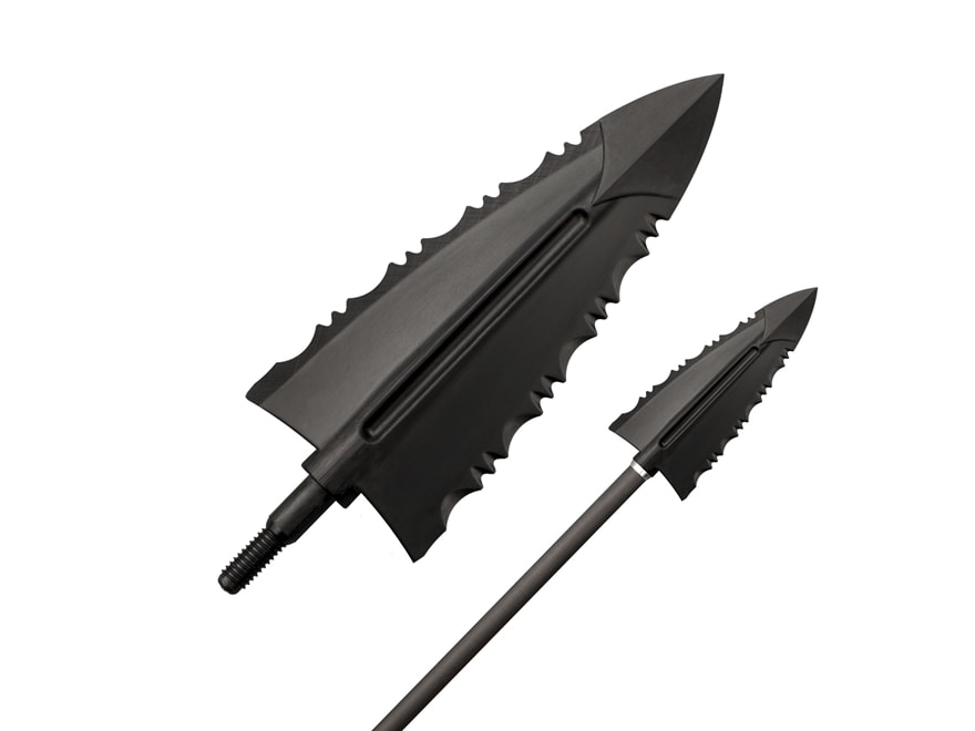 Cold Steel Cheap Shot Fixed Blade Broadhead Polymer Black Pack of 10