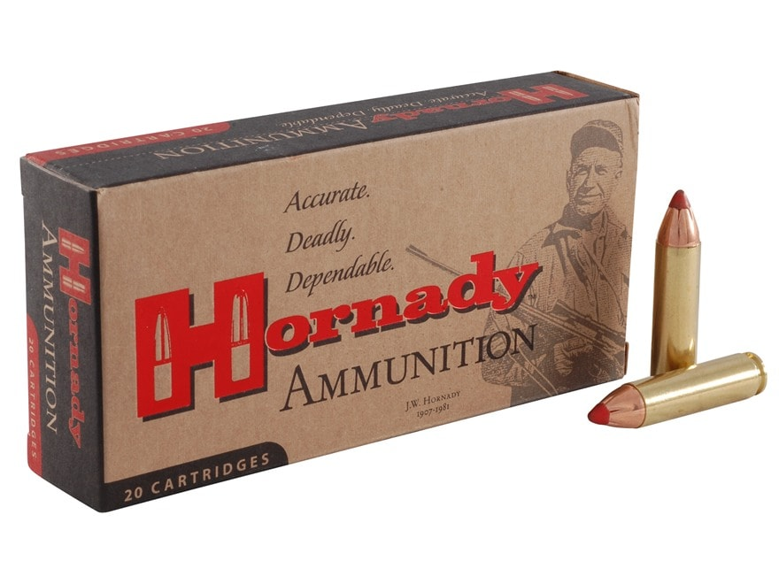 Hornady Custom Ammunition 450 Bushmaster 250 Grain FTX Box of 20