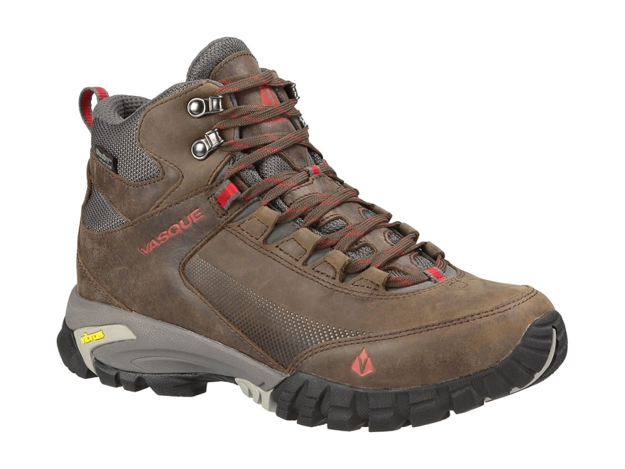 """Vasque Talus Trek UltraDry 5"""" Waterproof Hiking Boots Synthetic and Leather Slate Brown..."""