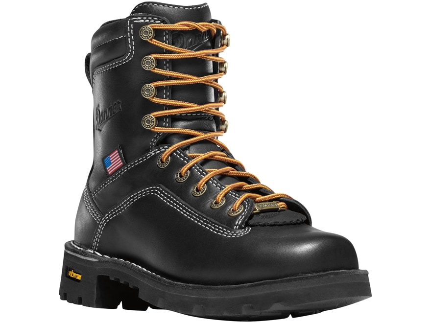 """Danner Quarry USA 7"""" Waterproof GORE-TEX Alloy Safety Toe Work Boots Leather Men's"""