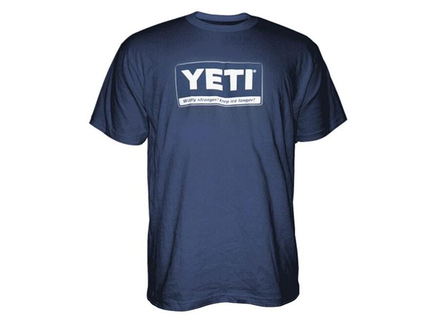 YETI Men's Billboard T-Shirt Short Sleeve Cotton and Polyester