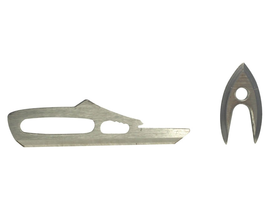 Rage Crossbow X Broadhead Replacement Blades Steel Pack of 3