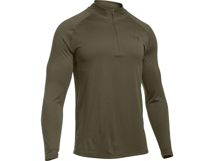Under Armour Men's UA Tac Tech 1/4 Zip Shirt Long Sleeve Polyester
