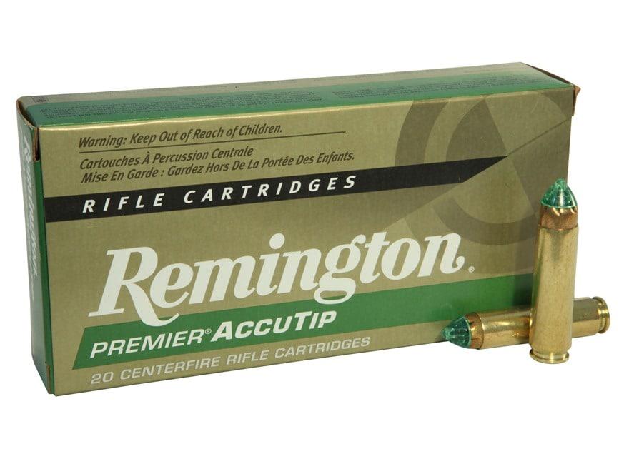 Remington Premier Ammunition 450 Bushmaster 260 Grain AccuTip Boat Tail Box of 20