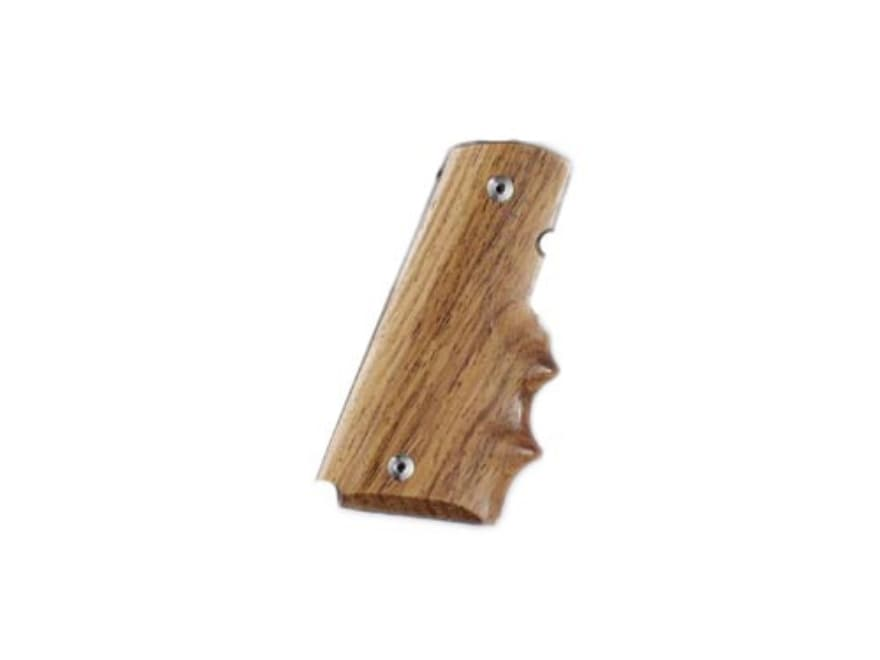 Hogue Fancy Hardwood Grips with Finger Grooves 1911 Government, Commander
