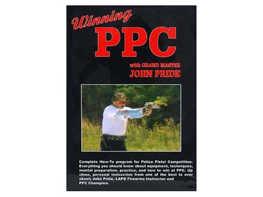 "Gun Video ""Winning PPC with Grand Master John Pride"" DVD"