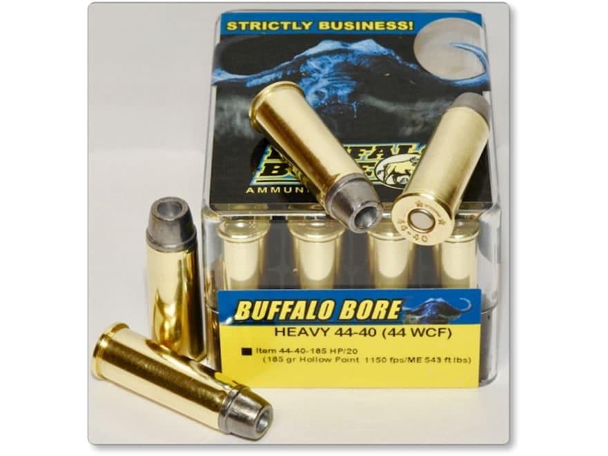 Buffalo Bore Ammunition 44-40 WCF 185 Grain Hollow Point Box of 20