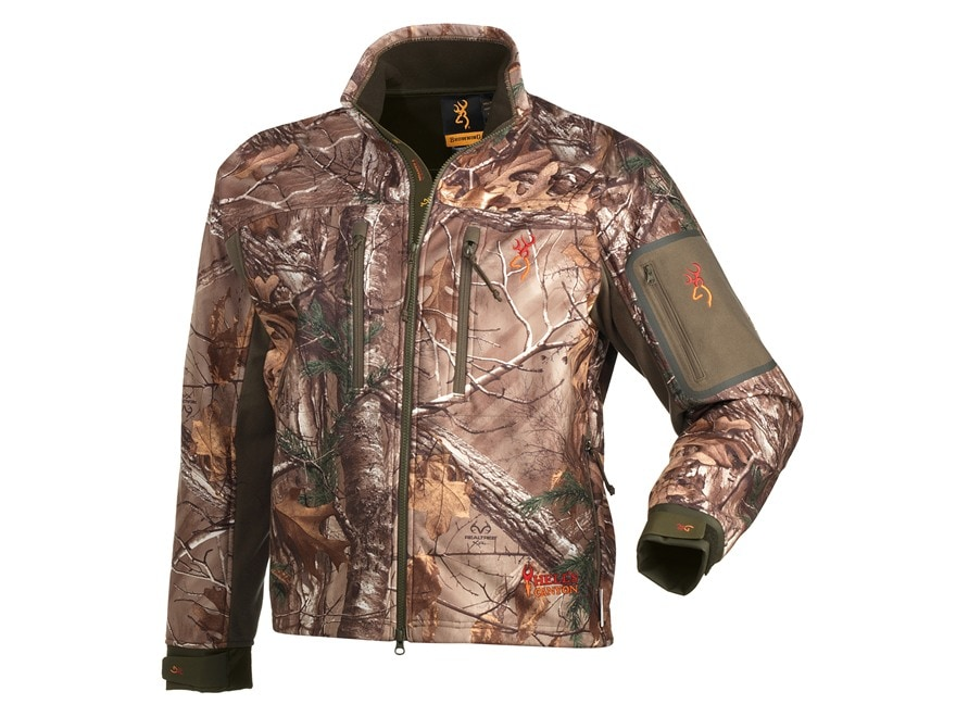 Browning Men's Hell's Canyon Jacket Polyester Realtree Xtra Camo 2XL ...