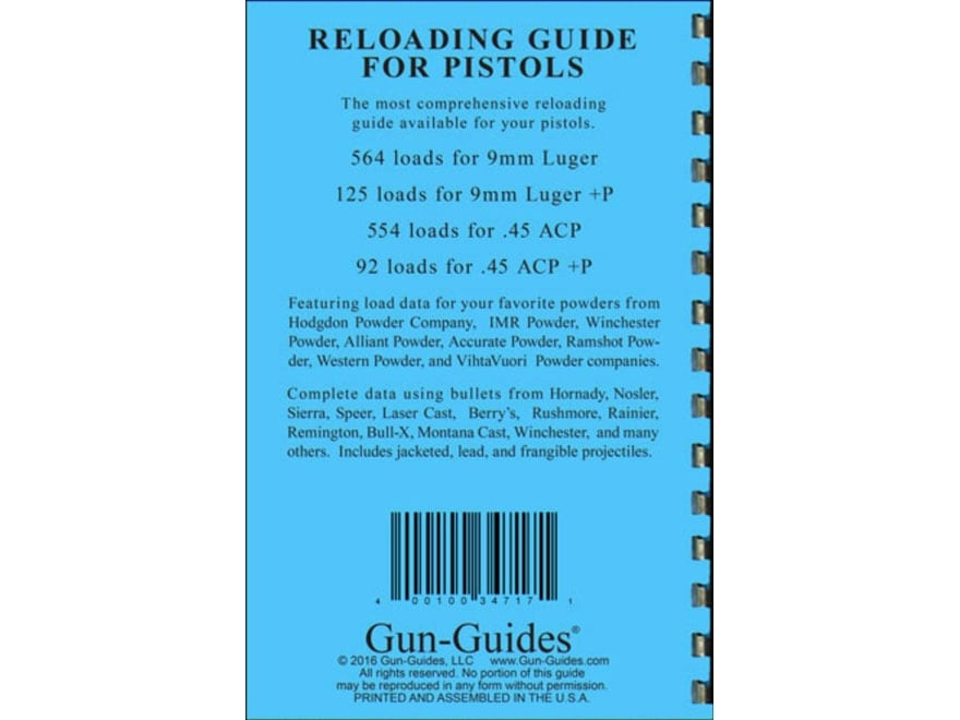 Alliant Powder Burn Rate Chart. Alliant Powder Reloaders Guide Reloading ...